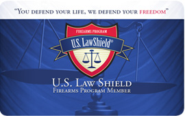 US Law Shield Card