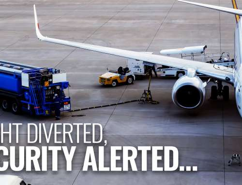 Flight Diverted, Security Alerted…