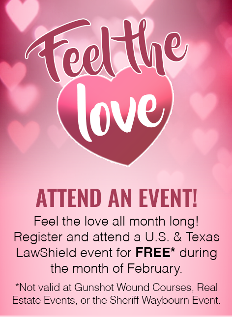 Feel The Love! Free Februrary Events
